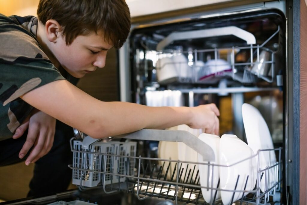How do you wash in a Dishwasher