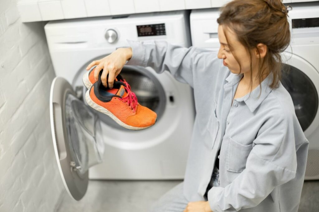 Wash Shoes With Clothes