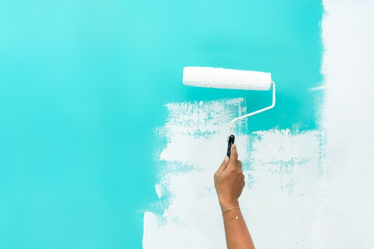 how do you clean a paint roller
