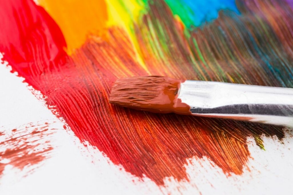 How to clean acrylic paintbrushes